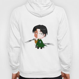 "Chibi Captain Levi (Rivaille) from ""Attack On Titan""/""Shingeki No Kyojin"" Hoody"