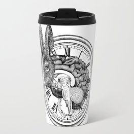 Engraving - White Rabbit Travel Mug