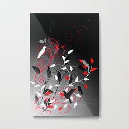 Nature in sihlouette Metal Print