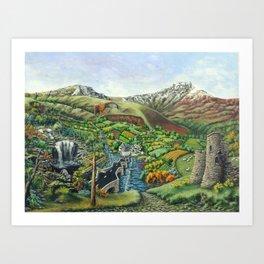 Prelude To Powys Art Print