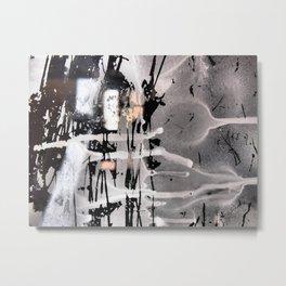 Accidental Art Metal Print