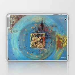 Of the Earth 4 by Nadia J Art Laptop & iPad Skin