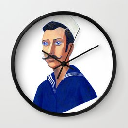The Young Sailor Wall Clock