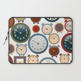 Clocks Laptop Sleeve