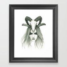 Zodiac - Aries Framed Art Print