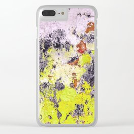 Texture1 Clear iPhone Case