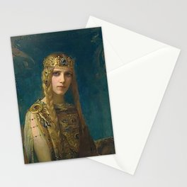 "Gaston Bussiere (French, 1862-1929), ""Isolde"". Stationery Cards"