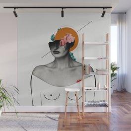 she. loved. Wall Mural