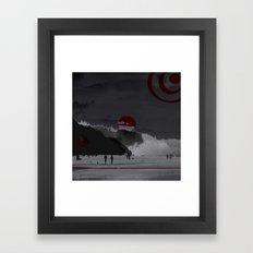 Time Walk Framed Art Print
