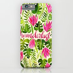 Tropical Wanderlust – Pink & Lime Slim Case iPhone 6s