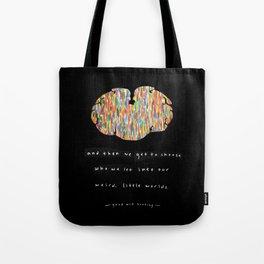 Weird Little Worlds Tote Bag