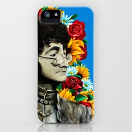 Flowers with John iPhone Case