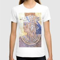 egyptian T-shirts featuring Egyptian Queen by Brian Raggatt