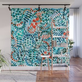 The Jungle Under the Sea Wall Mural