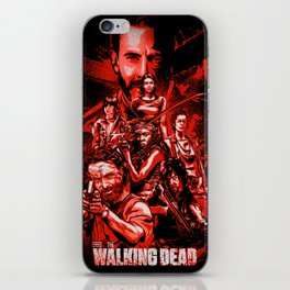 The Walking Dead Poster iPhone Skin