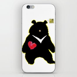 Bear with (V)ictory iPhone Skin