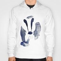 badger Hoodies featuring Badger by ramalamb