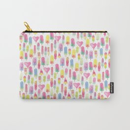 Watercolor Ice-cream and Popsicles Carry-All Pouch