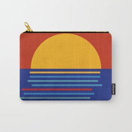 Sunset Sicily Carry-All Pouch