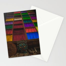 The Colors of Kathmandu City 02 Stationery Cards
