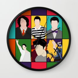 From Harry To Hedwig Wall Clock
