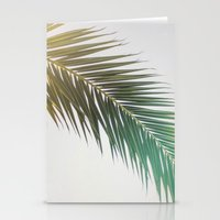 palm tree Stationery Cards featuring palm tree by iulia pironea
