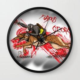 Furious George Wall Clock