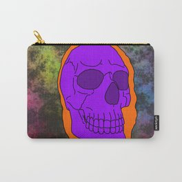 Halloween Skull Carry-All Pouch