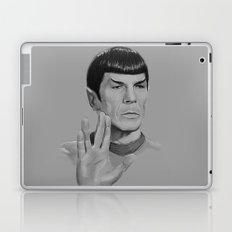 Spock Portrait Star Trek Laptop & iPad Skin