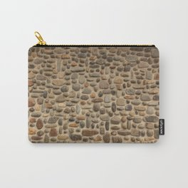 Mosaic Pebble Wall Carry-All Pouch