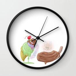 ~ Cool Treats Bro ~ Wall Clock