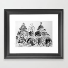 Cuban Giants in 1909 Framed Art Print