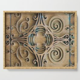 Architectural Details Serving Tray