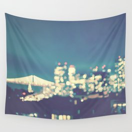San Francisco Twinkle Wall Tapestry