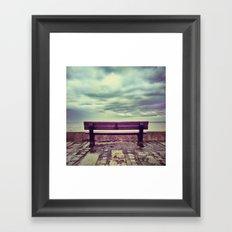 Take a seat part 2 Framed Art Print