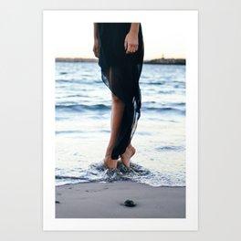 Toes 2 Art Print