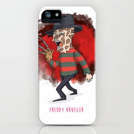 26 - Freddy krueger iPhone Case