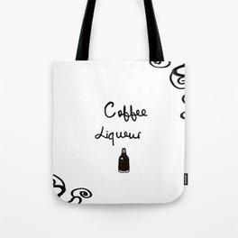 Coffee Liqueur Tote Bag