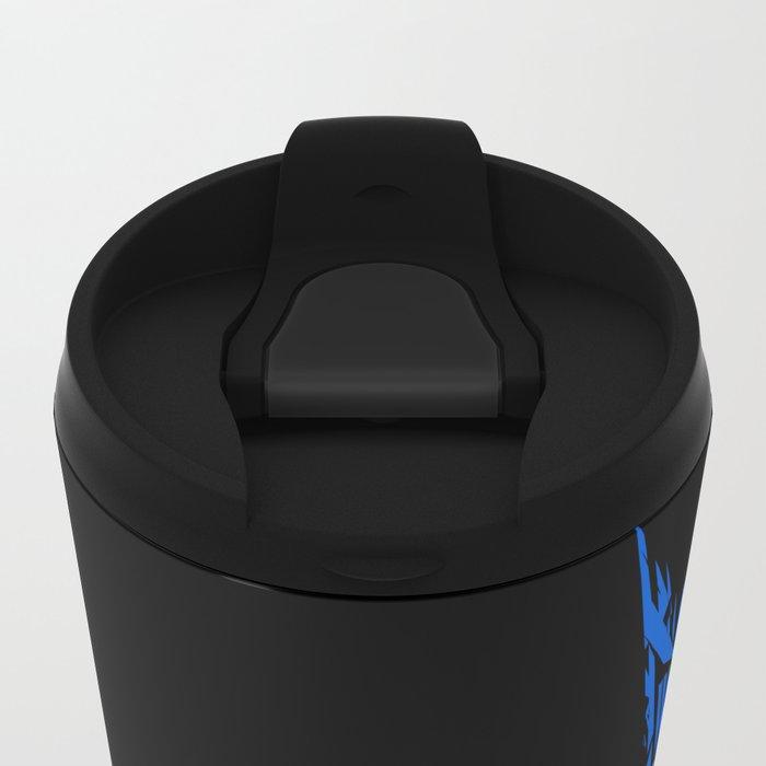 neuromancer Metal Travel Mug
