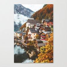 Hallstatt. Canvas Print
