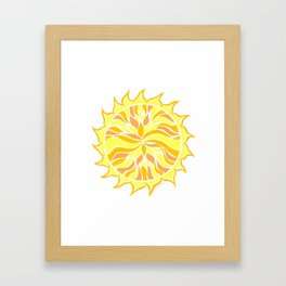 Sol Flow :: Color Therapy Collection :: Framed Art Print