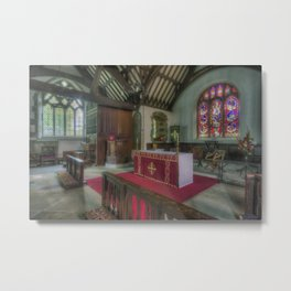 Fear Not I Am With You Metal Print