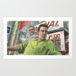 Paulie and Silvio Art Print