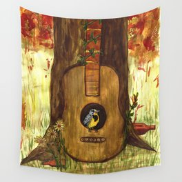 Meadowlark Wall Tapestry
