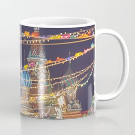 St Basil Cathedral on Red Square in Christmas and New Year, Moscow, Russia Coffee Mug