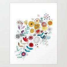 flowers_2 Art Print