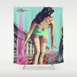 Rush Hour Madness Shower Curtain