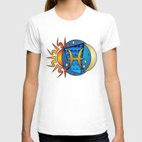 astrology T-shirts featuring Astrology, fish by Karl-Heinz Lüpke