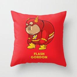 Flash Gordon Throw Pillow
