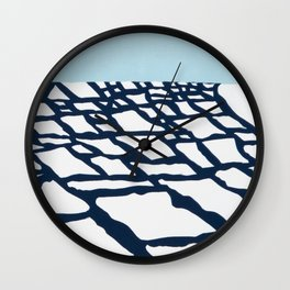 Ice Out Wall Clock